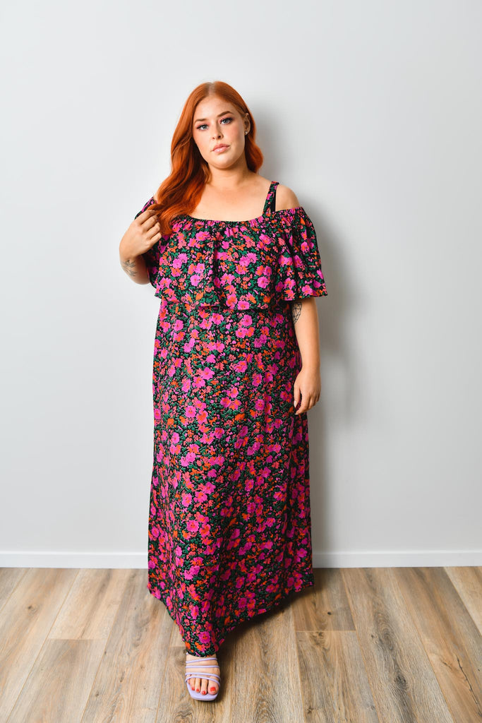 Megan Maxi Dress - Friday Flamingo