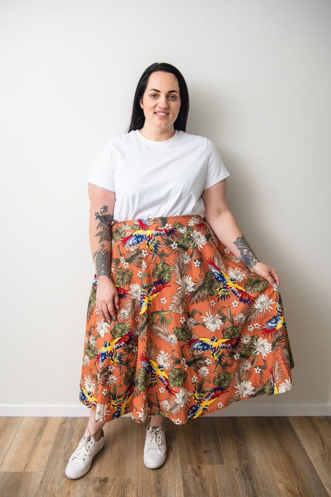 Rachel skirt - Friday Flamingo