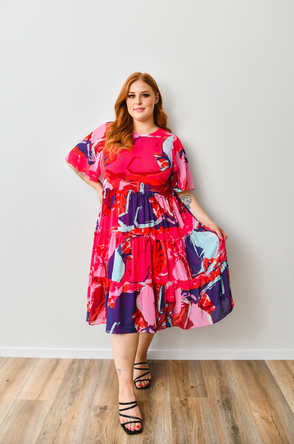Mia dress - Friday Flamingo