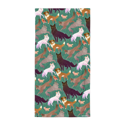 COTW towel - Wild Family