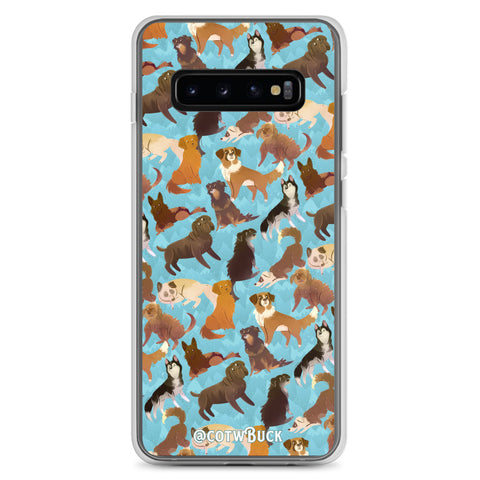 COTW Samsung case - Sled Dogs