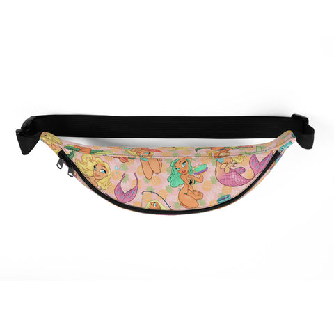 Pin-Up hip pack - Florida Girls (Pink Pineapple)