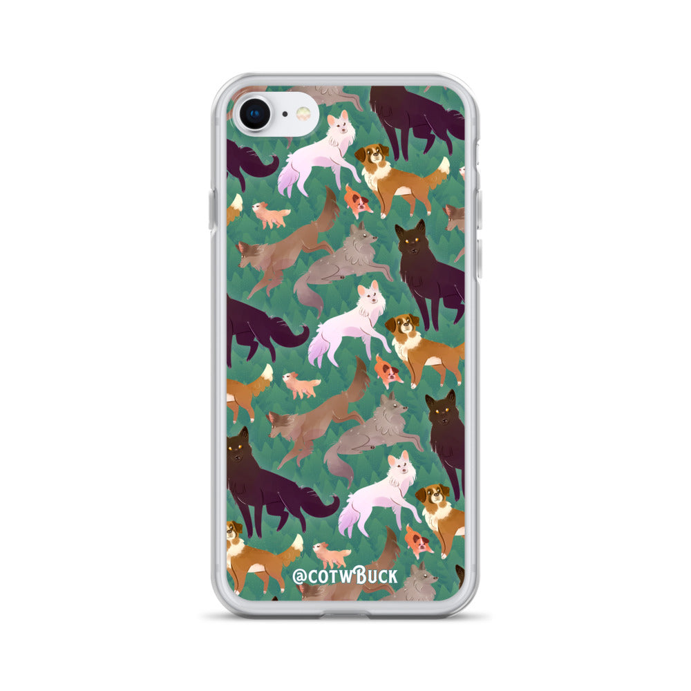 COTW iPhone case - Wild Family
