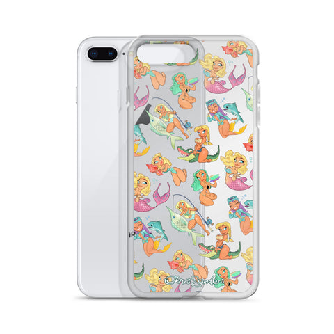 Pin-Up iPhone case - Florida Girls (clear)