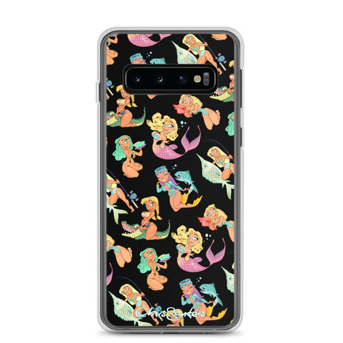 Florida Girls (black) - Pin-Up Samsung case