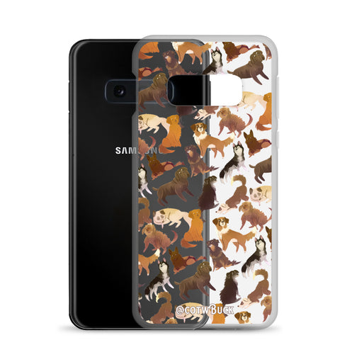 COTW Samsung case - Sled Dogs (clear)