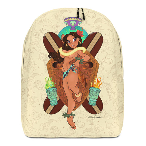 Pin-Up minimalist backpack - Island Girl