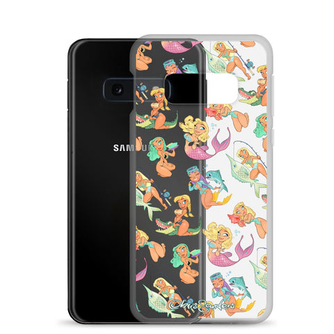 Florida Girls (clear) - Pin-Up Samsung case