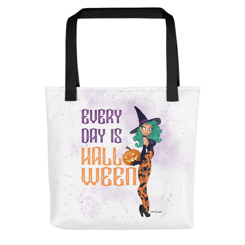 Pin-Up tote bag - Every Day Is Halloween