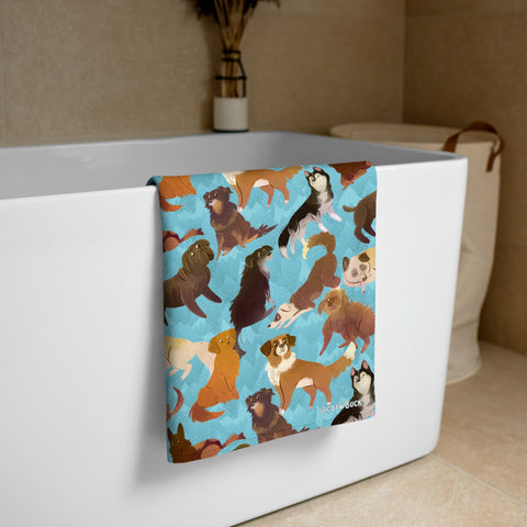 COTW towel - Sled Dogs