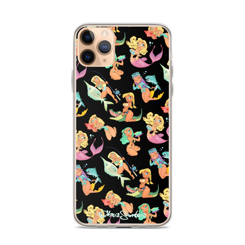 Florida Girls (black) - Pin-Up iPhone case