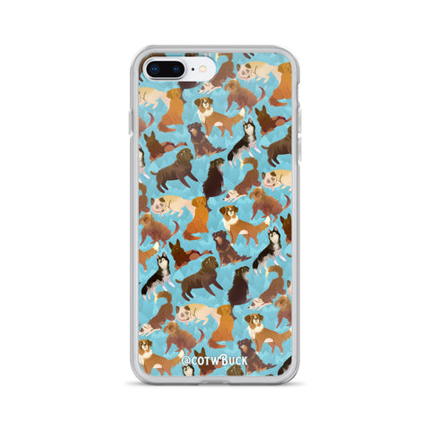 COTW iPhone case - Sled Dogs