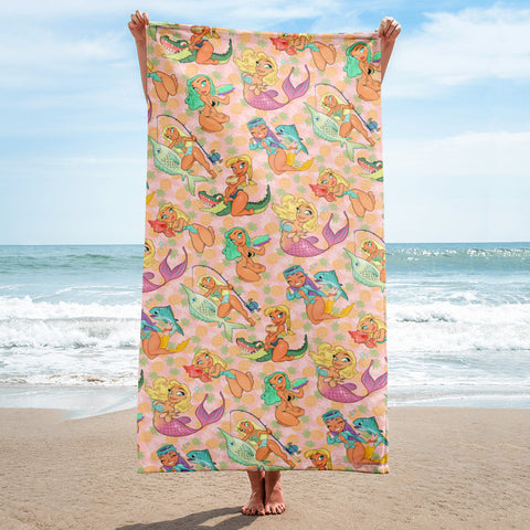 Florida Girls - beach towel
