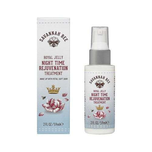 Savannah Bee Night Time Rejuvenation Treatment - 2oz
