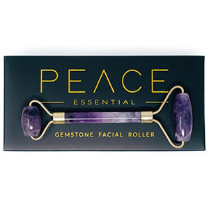 Peace Essential Gemstone Facial Roller - AMETHYST