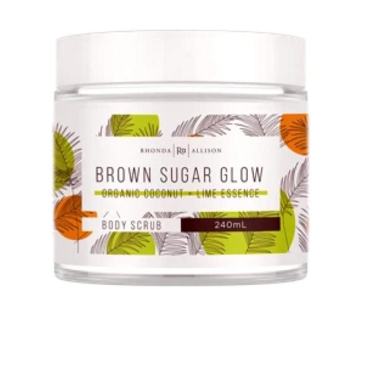 Rhonda Allison Brown Sugar Glow Body Scrub 240ml