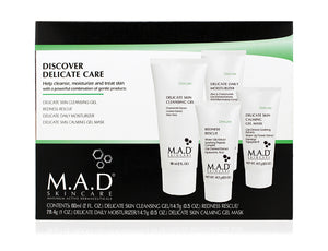 M.A.D Skincare Discover Delicate Care - For Sensitive Skin 4 pcs