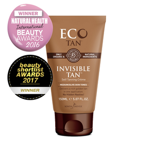 Eco Tan Invisible Tan Self Tanning Creme 5.07 oz - Sophie's Cosmetics