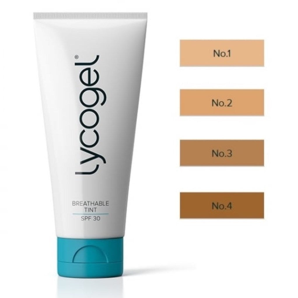 Lycogel Breathable Tint SPF 30, 1 oz (4 Shades)