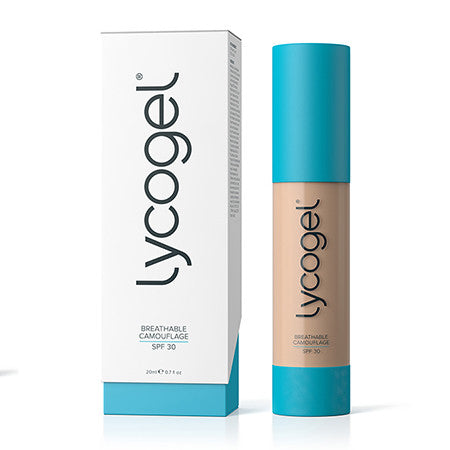 Lycogel Breathable Camouflage SPF 30 - 0.7 oz (Caramel) - Sophie's Cosmetics  - 1
