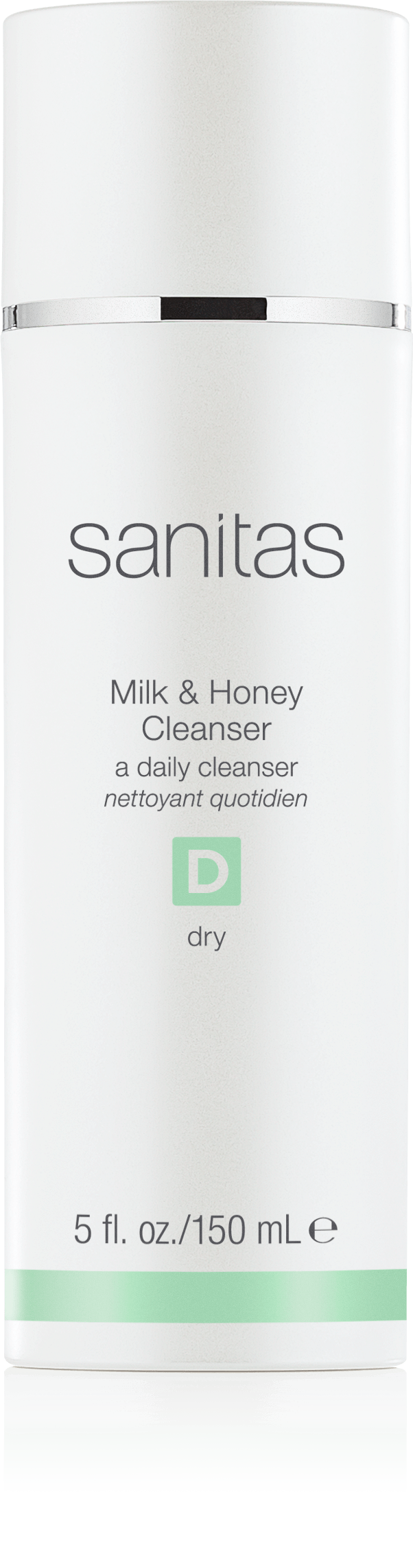 Sanitas Skincare Milk & Honey Cleanser - 5 oz