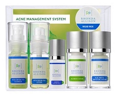 Rhonda Allison Skincare Acne Management System - 6pc Set