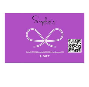 Sophie's Cosmetics Gift Card