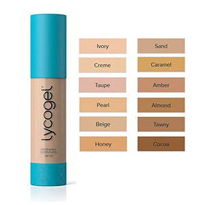 Lycogel Breathable Camouflage SPF 30 - 0.7 oz (Honey) - Sophie's Cosmetics  - 2