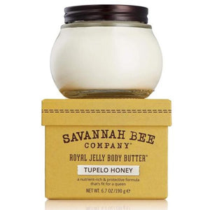 Savannah Bee Royal Jelly Body Butter 6.7 oz. - Tupelo Honey