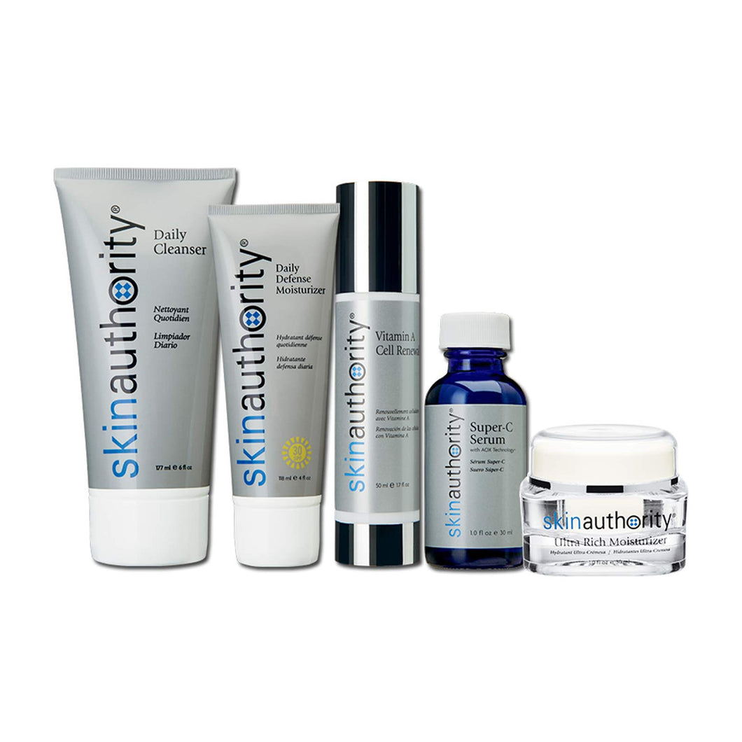 Skin Authority Sensitive Skin Kit 5 pc