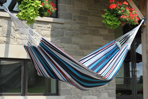 Brazilian Style Hammock - Single (Denim)
