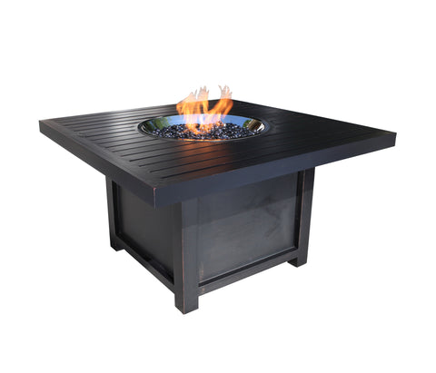 Outdoor Fire Pit : Monaco 42'' SQ