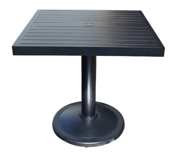 Monaco 36'' Square Pedestal Table