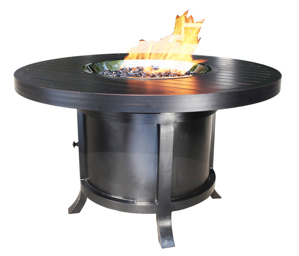 Outdoor Fire Pit : Monaco Dining 50''