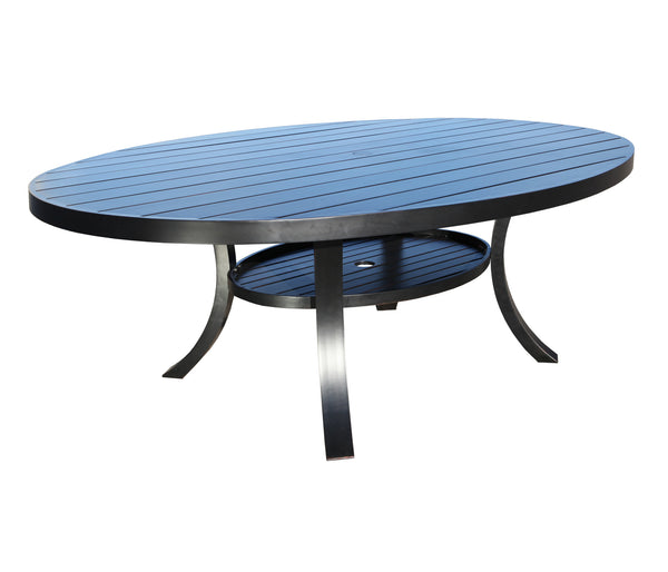 Monaco 98'' Oval Table