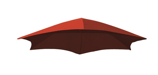 Dream Umbrella Fabric- Cherry Red