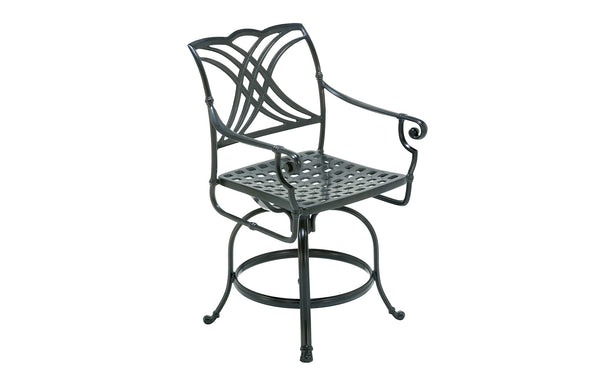 SWIVEL BALCONY HEIGHT STOOL