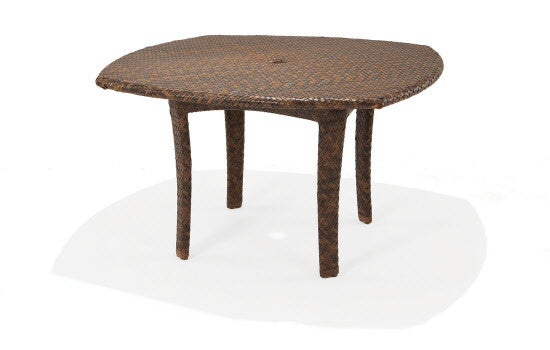 "Savannah 48"" Round Dining Table with Umbrella Hole"