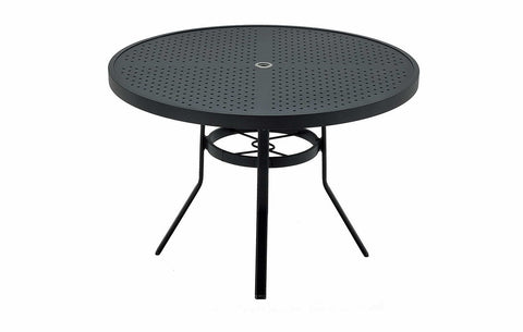 42'' ROUND DINING TABLE STAMP TOP (ROUND EDGE REC. EXTRUSION)