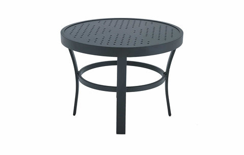 24'' ROUND SIDE TABLE STAMP TOP