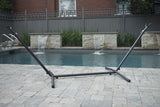 9ft Steel Hammock Stand- Charcoal