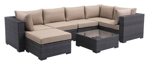 BocaGrande Sectional by Zuo Vive (7 piece set)