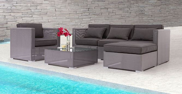 Clear Water Bay Sectional Set (6 PC) by Zuo Vive