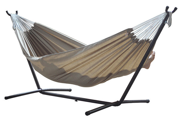 Combo - Sunbrella® Hammock with Stand (9ft)- sand