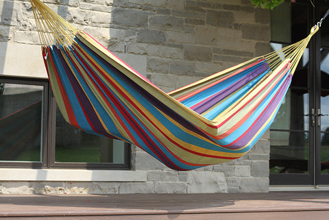 Brazilian Style Hammock - Single (Tropical)