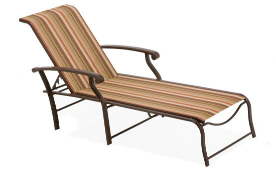 Winston Madero Sling Chaise Lounge