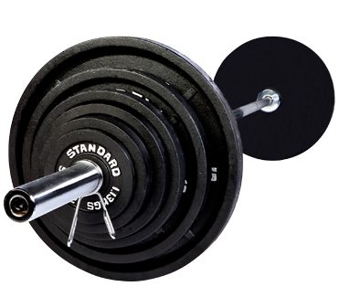 Troy USA - Olympic 300lb. Weight Set