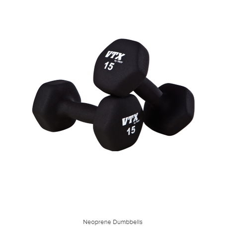 TROY - Neoprene Dumbbells