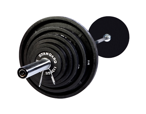 TROY - USA Olympic 300lb. Weight Set