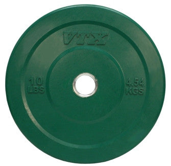 "10lb. Olympic 2"" Solid Bumper Plate - Green"